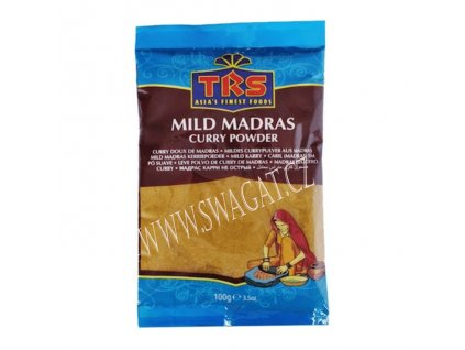 Kari Madras jemně pálivý (Mild Madras Curry Powder),TRS 100g