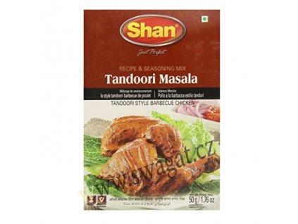Grilovací koření Tandoori Barbeque Masala, SHAN 50g
