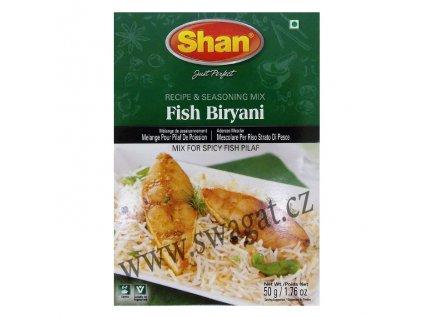 Koření na Rýbi Biryani (Fish Biryani Masala), SHAN 50g