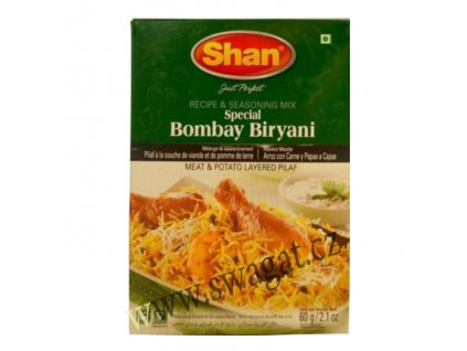 Koření na Bombay Biryani (Bombay Biryani Spices), SHAN 60g