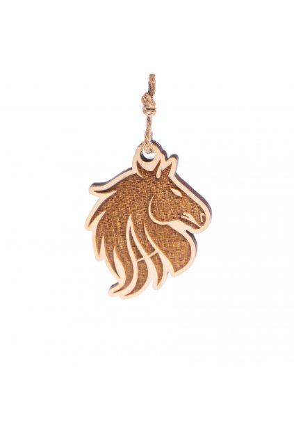 Přívěsek Anabolic Horse dřevěný