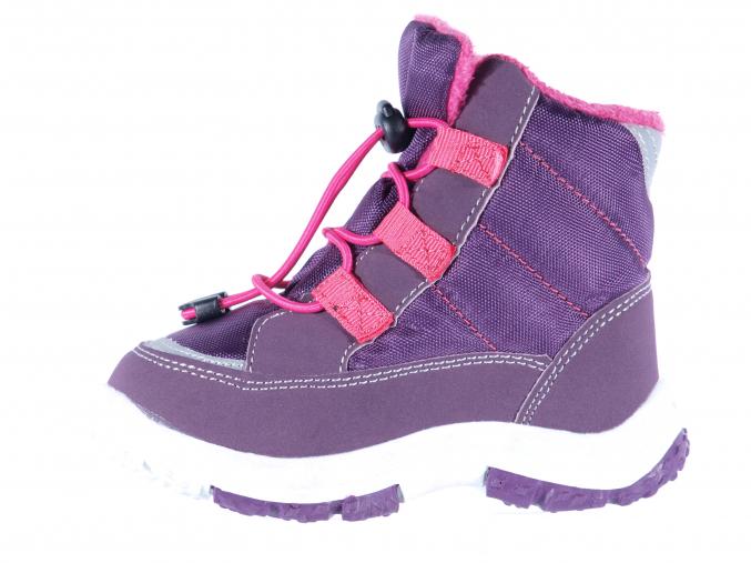 Dětské sněhule značky Junior League L 62/480-069 43 (Velikost 28, barva 43 purple)
