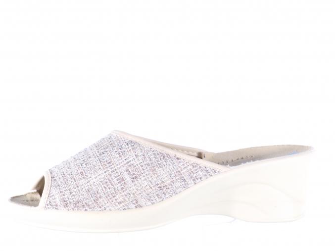 Dámská domácí obuv na klínku značky Adanex L 8481-683 (Velikost 41)