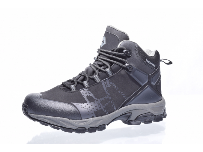 Kotníková šněrovací obuv Nordbrandt L 92/119-201 90 (Velikost 46, barva 90 černá)