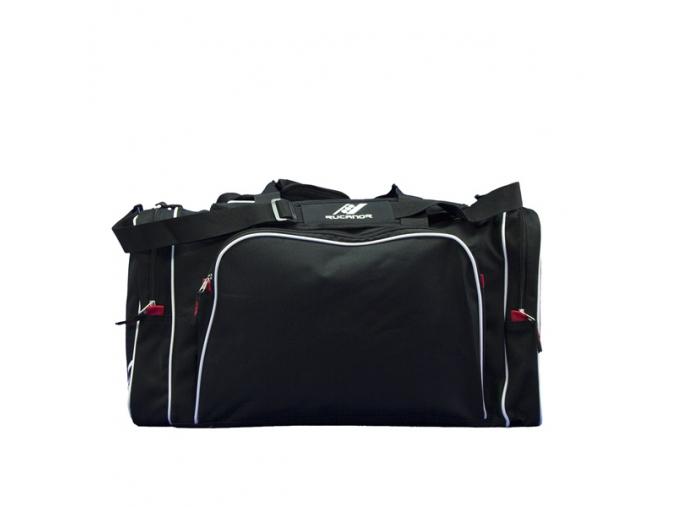 Sportovní taška RUCANOR ACHELOS M 27563-01 ČERNÁ/ŠEDÁ (Velikost unisize, barva černá/šedá)