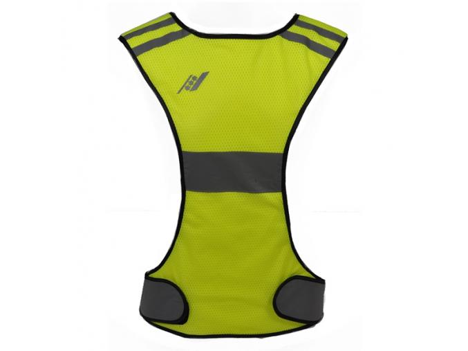 Bezpečnostní vesta RUCANOR RUNNING VEST X-SHAPE 28932-01 ŽLUTÁ (Velikost S, barva žlutá)