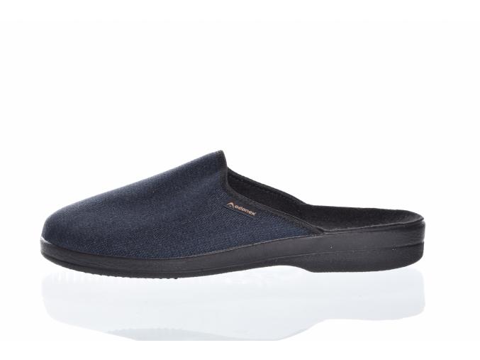 pánská domácí obuv značky Adanex  L 8492-820 (Velikost 46, barva modrá)