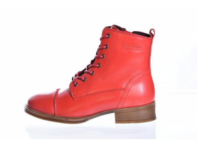 Dámská kožená kotníková obuv značky TEN POINTS  TP 60166 838