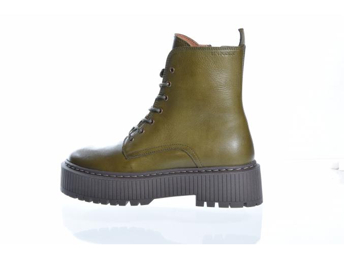 Dámská kožená obuv značky TEN POINTS   TP 60162 511