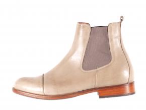 Dámská ležérní kožená kotníková obuv značky Ten Points  TP 204003 356 (Velikost 40, barva 356 taupe)