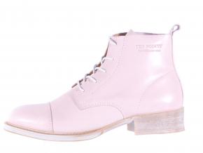 Dámská vycházková kožená šněrovací kotníková obuv značky Ten Points  TP 125001 880 (Velikost 41, barva 880 sv.růžová)