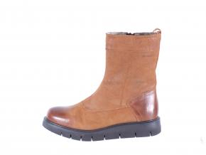 Dámská kožená kotníková obuv značky Ten Points  TP 474024 302 (Velikost 41, barva 302 sv.hnědá)