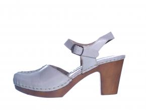 Osobité sandály švédské značky Ten Points TP 749001 202 (Velikost 42, barva 202 sv.šedá)