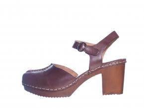 Osobité sandály švédské značky Ten Points TP 515010 301 (Velikost 41, barva 301 hnědá)
