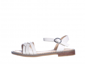 Elegantní dívčí sandálky L 71/211-023 10 (Velikost 34, barva 10 bílá)