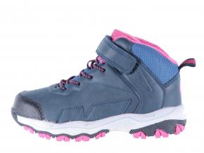 Dětská šněrovací kotníková obuv značky Junior League L 62/161-080 35 (Velikost 35, barva 35 navy)