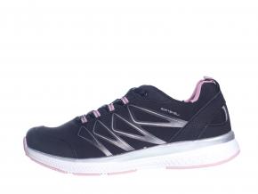 Lehká, sportovní, pohodlná obuv  L 81/119-160 96 (Velikost 40, barva 96  černá/růžová)