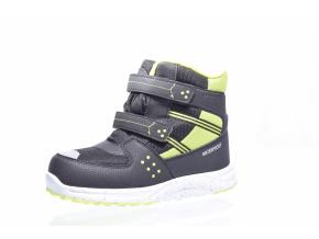 Dětská zimní obuv značky Junior League L 92/159-132 98 (Velikost 35, barva 98 černá/limet)