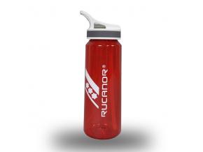 Láhev RUCANOR PC EASY DRINKBOTTLE 800 ml ČERVENÁ (Velikost 800 ml, barva červená)