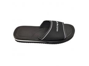 Pánské pantofle RUCANOR SANTORINI 22382-02 ČERNÁ (Velikost 46, barva černá)