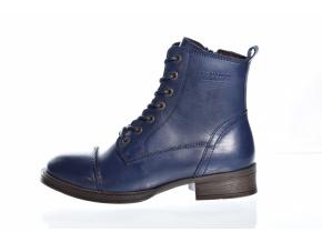 Dámská kožená kotníková obuv značky TEN POINTS  TP 60166 719