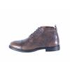 Pánská kožená šněrovací kotníková obuv značky Ten Points  TP 386011 203 (Velikost 45, barva 203 tm. šedá)