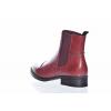 Dámská kožená kotníková obuv značky Ten Points  TP 124008 802 (Velikost 41, barva 802 bordo)