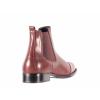 Dámská ležérní kožená kotníková obuv značky Ten Points  TP 204003 802 (Velikost 42, barva 802 bordo)