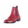Dámská kožená kotníková obuv značky Ten Points  TP 206001 801 (Velikost 41, barva 801 červená)