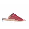 Volnočasové kožené dámské pantofle švédské značky Ten Points TP 515002 801 (Velikost 41, barva 801 červená)