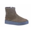Dámská zimní kožená kotníková obuv značky Avenue L 82/109-026 61 (Velikost 41, barva 61 tm. zelená)