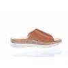Volnočasové kožené dámské pantofle švédské značky Ten Points TP 515003 319 (Velikost 41, barva 319 cognac)