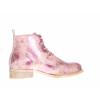 Dámská vycházková kožená šněrovací kotníková obuv značky Ten Points  TP 127005 841 (Velikost 41, barva 841 pinkmetallic)
