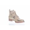 Dámská vycházková kožená šněrovací kotníková obuv značky Ten Points  TP 127005 613 (Velikost 42, barva 613 gold)
