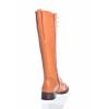 DÁMSKÁ KOŽENÁ ŠNĚROVACÍ KOZAČKA ZNAČKY TEN POINTS  TP 128024 605 (Velikost 42, barva 605 orange)