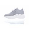 Dámská textilní obuv značky Snkr. L 91/229-002 20 (Velikost 41, barva 20 šedá)