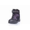 Dětská zimní kotníková obuv značky Junior League L 92/151-122 88 (Velikost 35, barva 88 černá/fialová)
