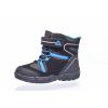 Dětská zimní kotníková obuv značky Junior League L 92/151-122 93 (Velikost 35, barva 93 černá/modrá)