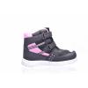 Dětská zimní obuv značky Junior League L 92/159-132 96 (Velikost 35, barva 96 černá/růžová)