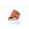 Volnočasové kožené dámské pantofle švédské značky Ten Points TP 517002 319 (Velikost 39, barva 319 cognac)