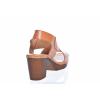 TRENDOVÉ PÁSKOVÉ SANDÁLE NA PODPATKU OD ŠVÉDSKÉ ZNAČKY TEN POINTS TP 517012 319 (Velikost 41, barva 319 cognac)