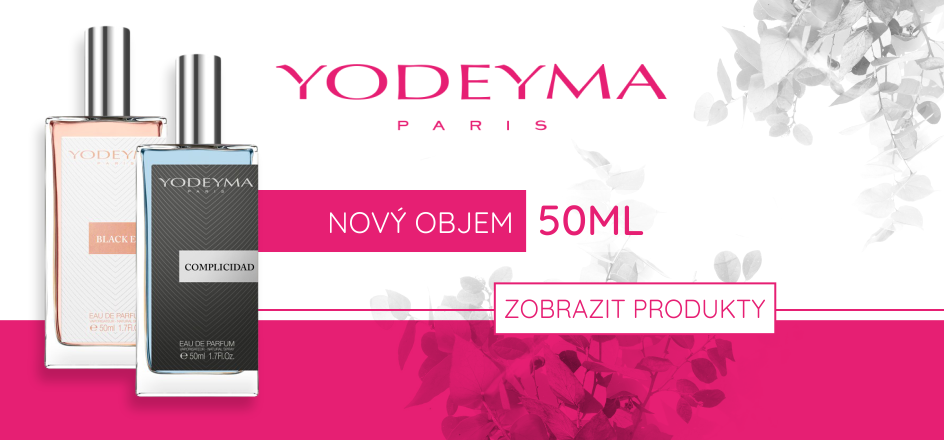 Banner yodeyma paris 50 ml  swee.cz