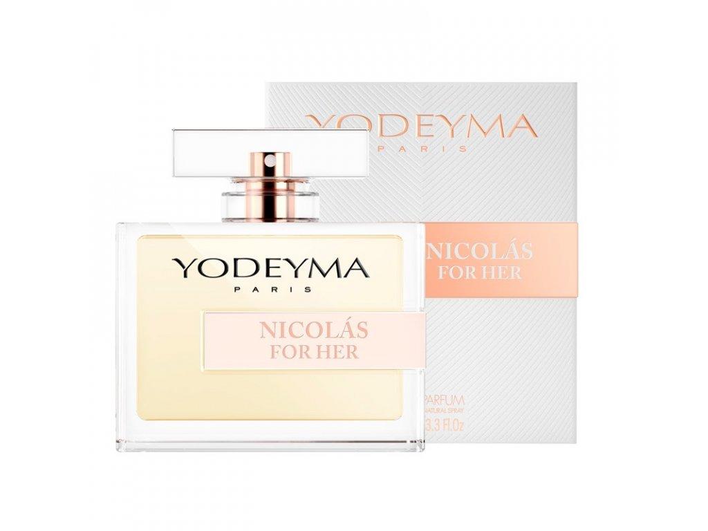 YODEYMA Nicolas For Her EDP (Vyrianta 100ml)