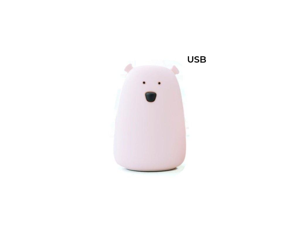 velký medvěd růžový usb