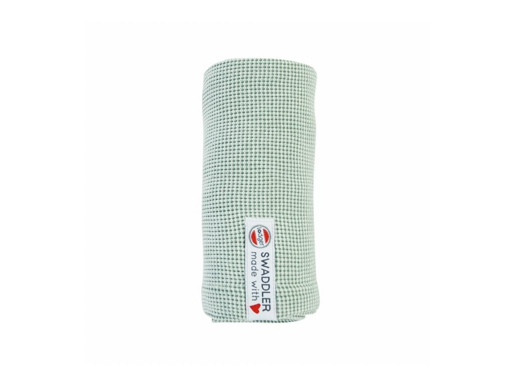 LODGER Swaddler Ciumbelle 70 x 70 cm Peppermint