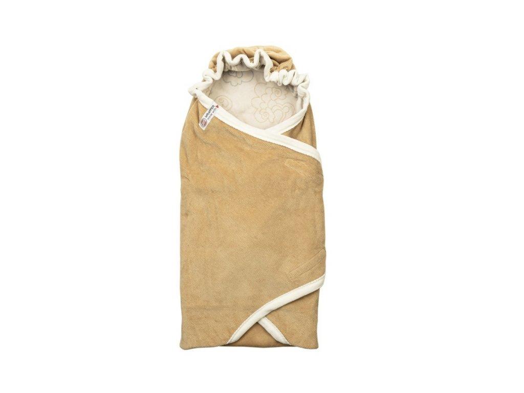 LODGER Wrapper Newborn Empire Honey