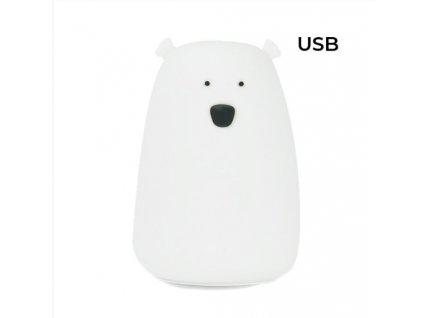 bílý velký medvěd