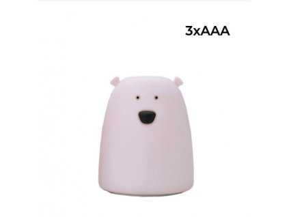medvěd růžový 3aaa