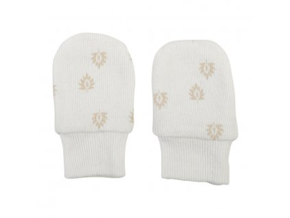 LODGER Mittens Print Rib Cloud Dancer