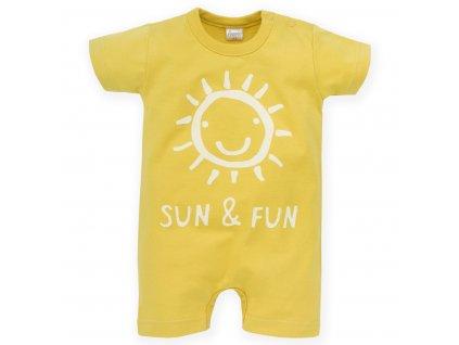 overal Sun Fun žlutý